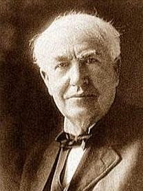 """Opportunity is missed by most people because it is dressed in overalls and looks like work"" - Thomas Edison"